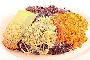 Thai Style Sweet Desserts. Royalty Free Stock Photos - Image: 15187138