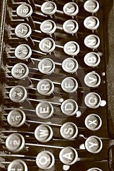 Vintage Typewriter Royalty Free Stock Photo - Image: 15188095