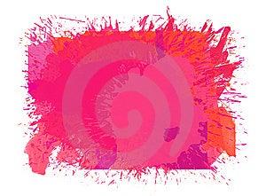 Pink Splash Royalty Free Stock Photo - Image: 15189255