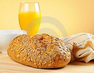 Fresh Homemade Bread Royalty Free Stock Photography - Image: 15189847