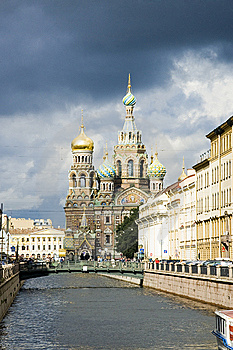 Church Of The Savior On Blood Royalty Free Stock Images - Image: 15191449