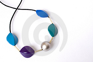 Necklace Made Of Stones Royalty Free Stock Photos - Image: 15191868