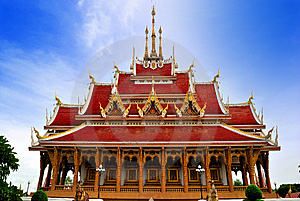 Thai Temple In  Khonkane Province Stock Images - Image: 15192714