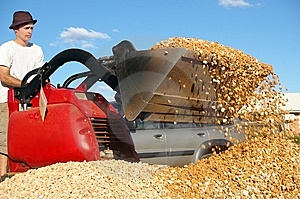 Earth Moving Machine Royalty Free Stock Images - Image: 15192919