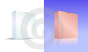 White And Red Software Box Stock Photography - Image: 15194052