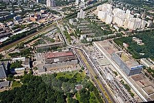 City Panorama Royalty Free Stock Photography - Image: 15194107