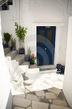 Blue Door Royalty Free Stock Photos - Image: 15194208
