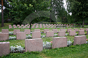 Soldiers' Graves Stock Photography - Image: 15197132