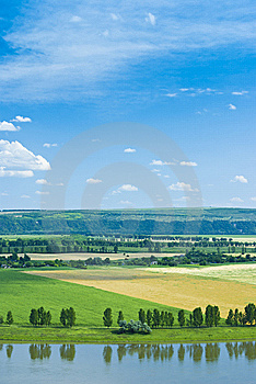 Country Landscape Royalty Free Stock Images - Image: 15198269