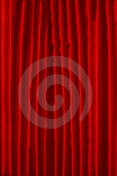 Red Curtain Stock Image - Image: 15198921