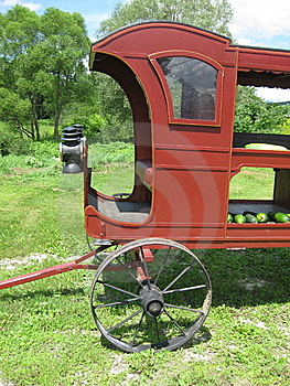 Vegetable Wagon Stock Images - Image: 15198944