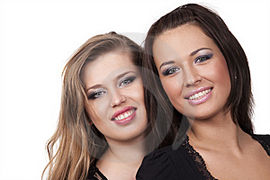 Two Voluptuous Girls Stock Images - Image: 15199134