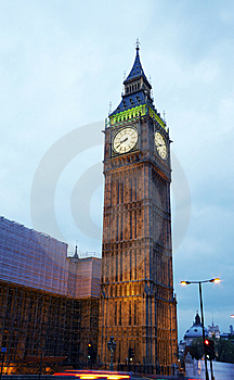 Big Ben Tower Stock Image - Image: 15199821