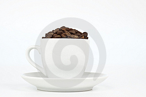 White Coffee Cup Royalty Free Stock Photography - Image: 15201167