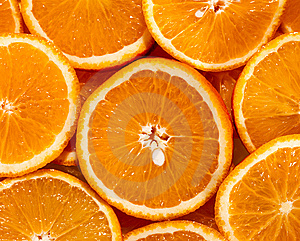 Sliced Orange Royalty Free Stock Photo - Image: 15201555