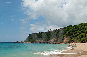 Secluded Beach Stock Photo - Image: 15203720