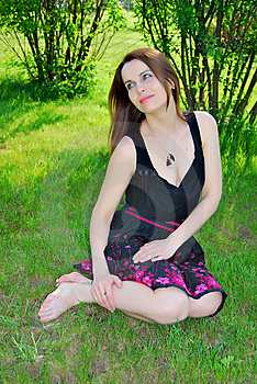The Girl In The Park Stock Images - Image: 15204064