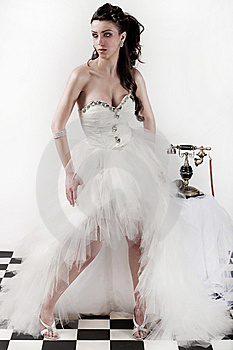Traditional Wedding Dress Stock Images - Image: 15204864