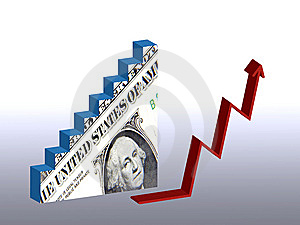Dollar Recovery Royalty Free Stock Photography - Image: 15205107
