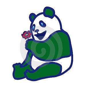 Panda Royalty Free Stock Image - Image: 15207766