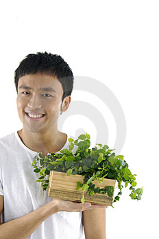 Young Man Royalty Free Stock Image - Image: 15209226