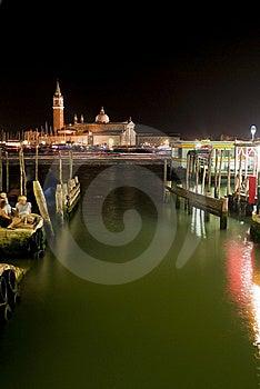 Venetian Night Royalty Free Stock Images - Image: 15210509