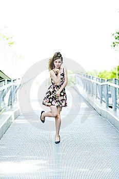 Teenager Girl Model  Royalty Free Stock Photos - Image: 15211408