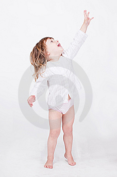 Studio Porrait Of Cute Child Stock Photography - Image: 15212842