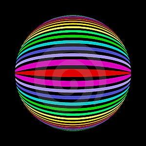 Strip Bowl Stock Image - Image: 15213441