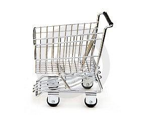 Shopping Trolley Royalty Free Stock Image - Image: 15214866