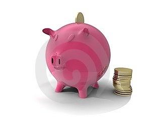 Piggy Bank Royalty Free Stock Image - Image: 15216766