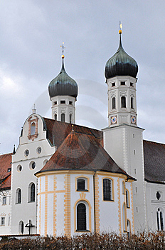 Collegiate Church Of Benediktbeuern Stock Photography - Image: 15217032