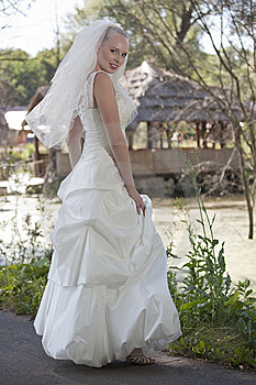Bride Outdoor Royalty Free Stock Photography - Image: 15217177