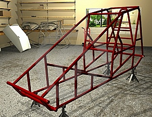 Sprint Car Frame Royalty Free Stock Images - Image: 15217789