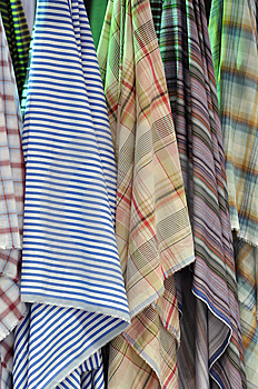 Colorful Cloth Hanging Royalty Free Stock Photography - Image: 15218047