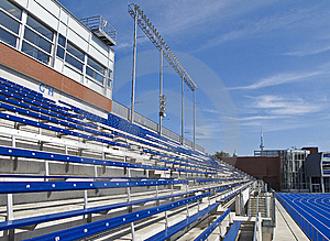 Stadium Seating Royalty Free Stock Photography - Image: 15219147