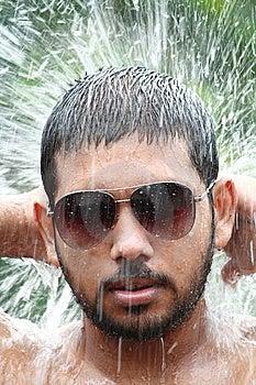 Man Bathing Stock Photography - Image: 15221972