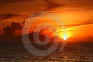 Sunrise Of  Turtle Island Royalty Free Stock Images - Image: 15224049