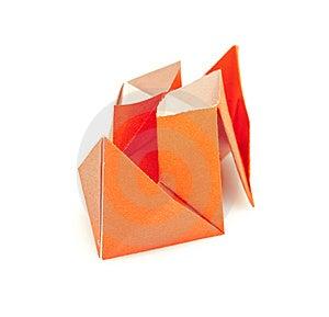 Paper Ship Stock Image - Image: 15224541