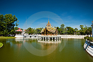 Bang PA-IN Royal Palace Royalty Free Stock Image - Image: 15226326