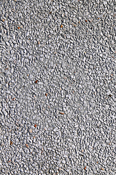 White Gravelly  And Concrete Wall Render Stock Images - Image: 15227464