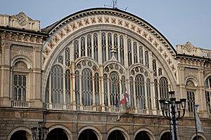 Porta Nuova Railway Station In Turin Royalty Free Stock Image - Image: 15228516