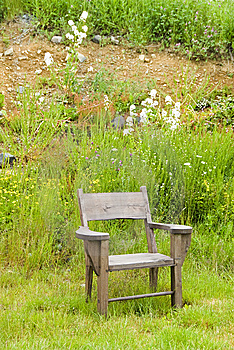 Wooden Chair Stock Image - Image: 15230941