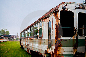 Old Vintage Train Royalty Free Stock Photos - Image: 15231228