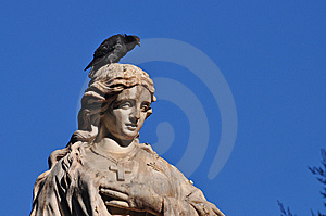 Statue Alive Stock Images - Image: 15231464