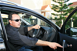 Man In Car Royalty Free Stock Photos - Image: 15233948
