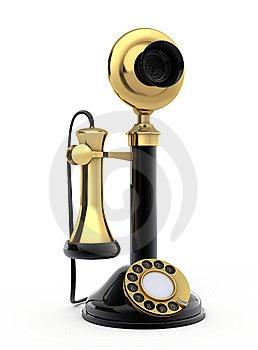 Retro Telephone Stock Photo - Image: 15234740