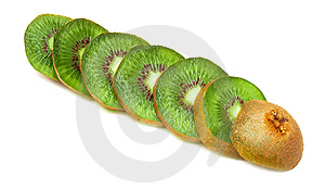 Juicy Fruit Kiwi Royalty Free Stock Photo - Image: 15235395
