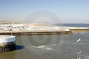 The Port In Calais Stock Photography - Image: 15236982