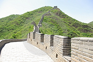 Great Wall Of China Juyongguan Royalty Free Stock Image - Image: 15239476